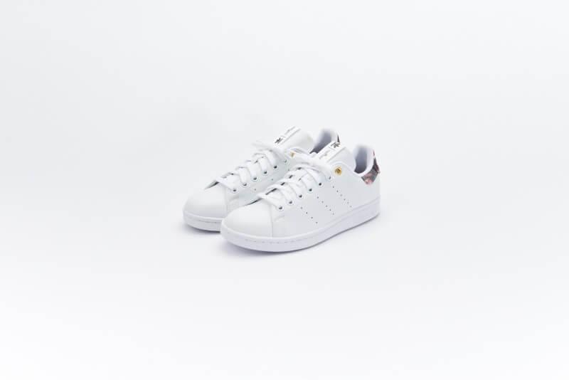 Adidas x HER Studio Women's Stan Smith Cloud White/Supplier Color-Collegiate Burgundy