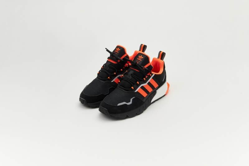 Adidas ZX 1K Boost Seasonality Core Black / Solar Orange