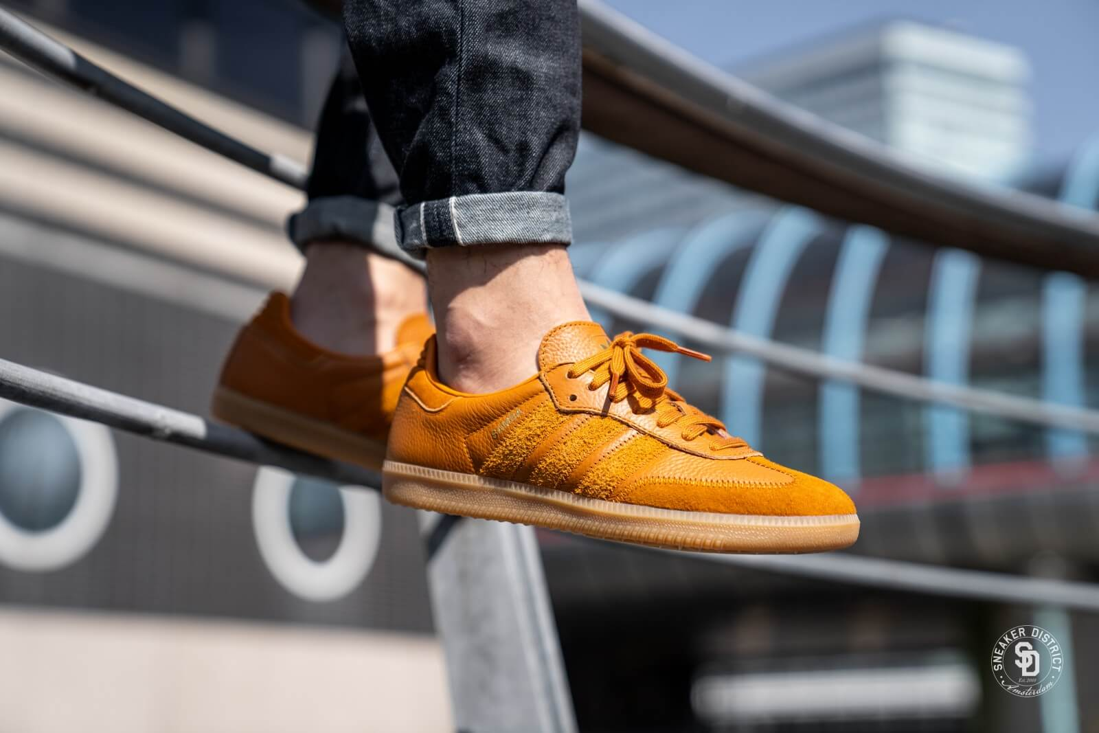 Adidas Samba OG FT Craft Ochre/Gold - CG6134