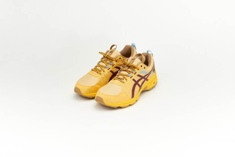 Asics HN1-S GEL-Venture 7 Yellow/Ox Brown