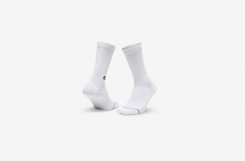Stance Icon Socks White/Black
