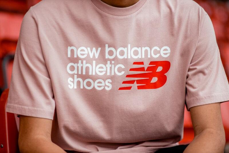 New Balance Athletic Shoebox Tee Charm