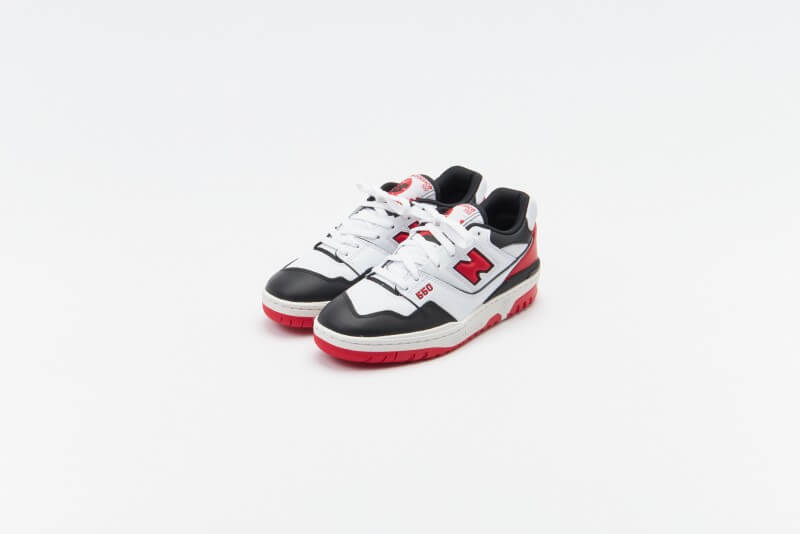 New Balance BB550HR1 White / Black - Red