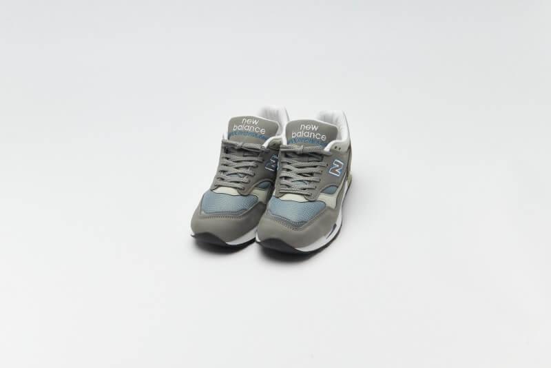 New Balance M1500BSG Grey / Blue Made in England
