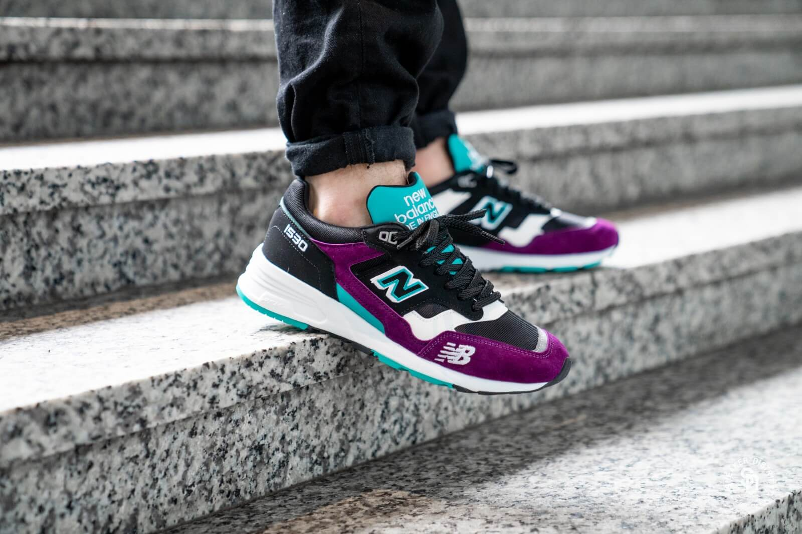 new balance black purple
