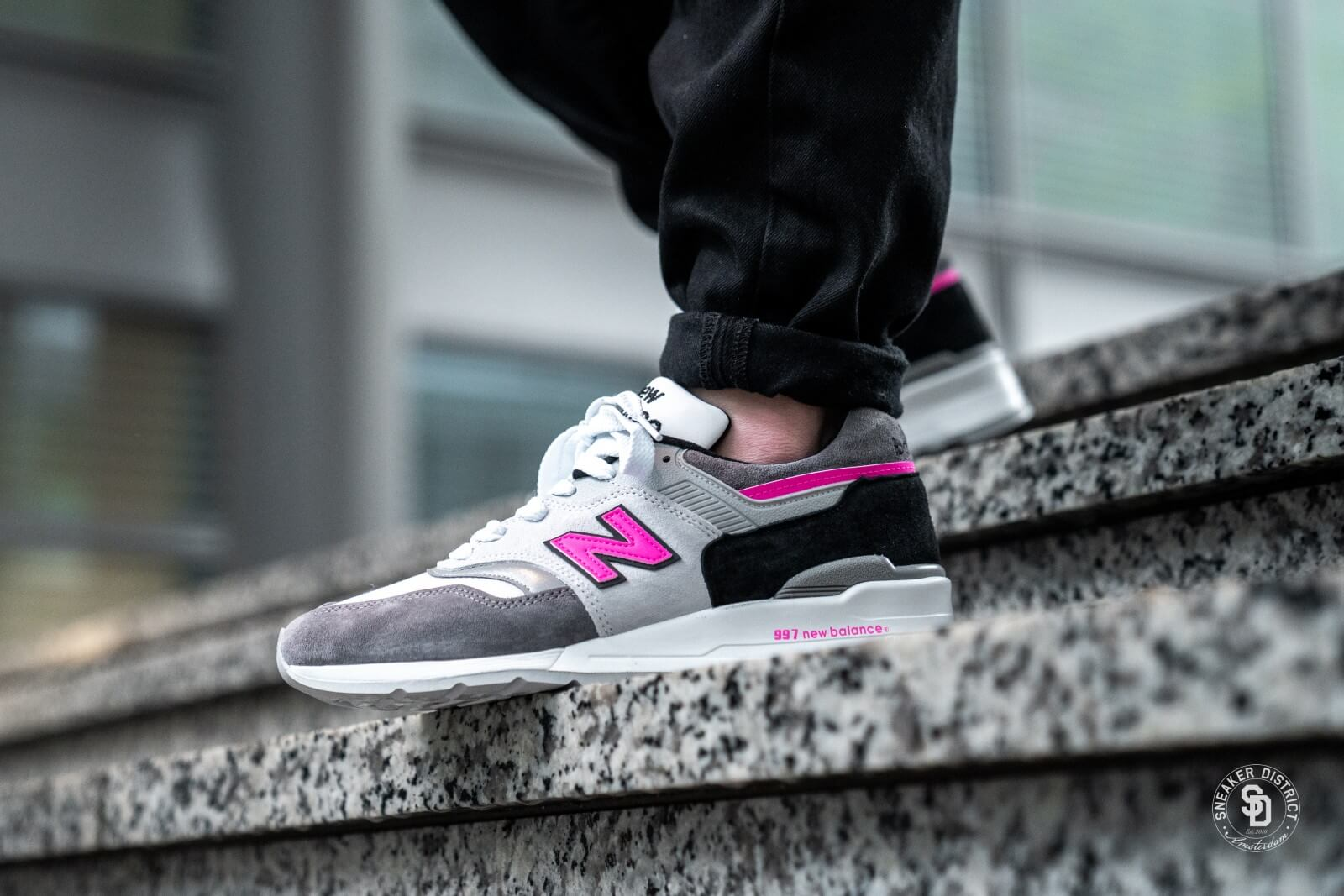 New Balance M997LBK Grey/Pink - 721951-60-123