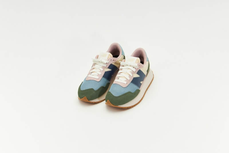 New Balance WS237MP1 Green / Pink / Navy