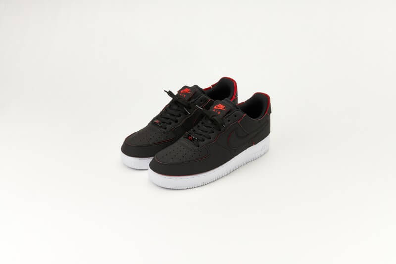 Nike Air Force 1/1 Black/Chile Red-Pine Green