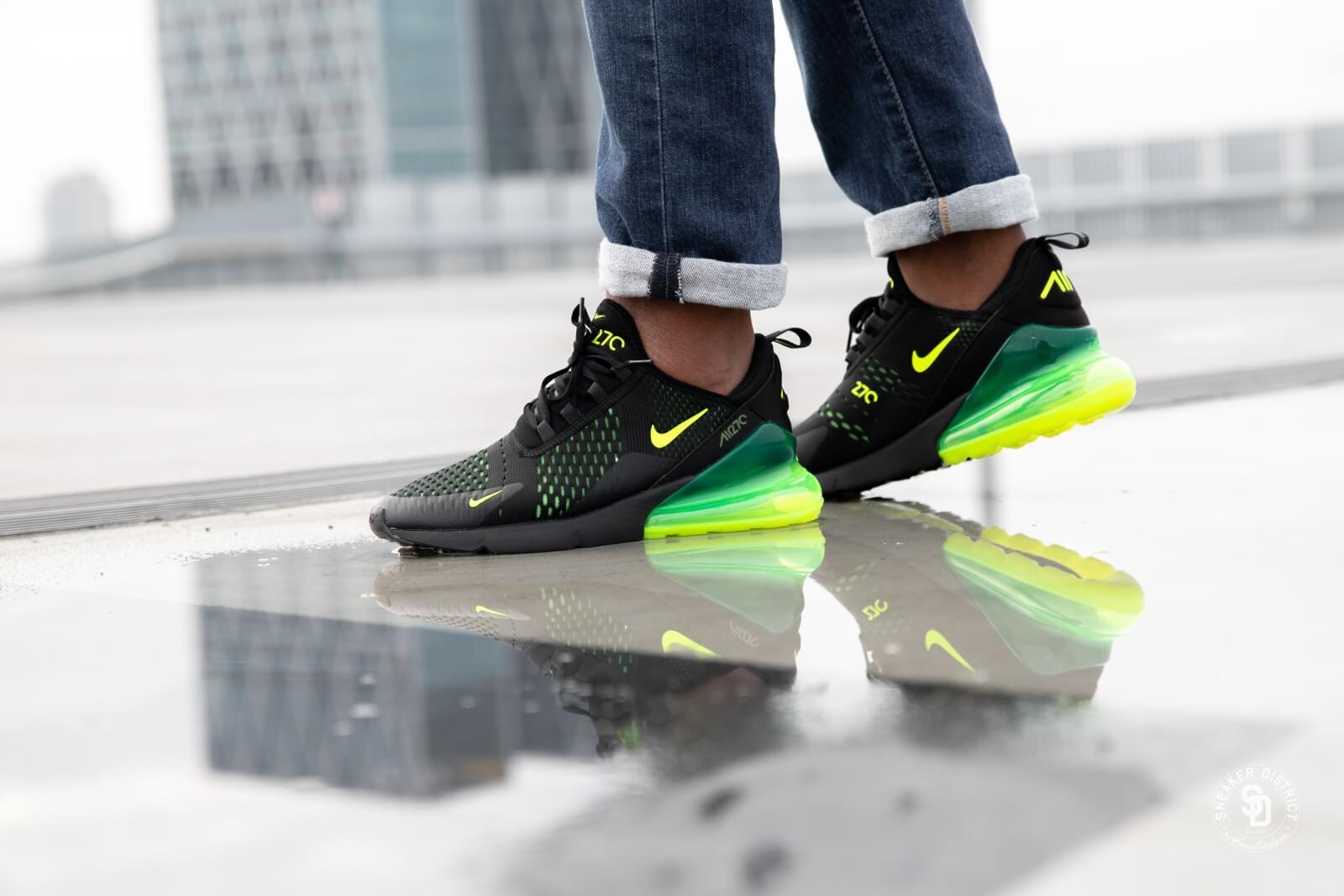 lepszy ładne buty kup tanio Nike Air Max 270 Black/Volt Black Oil Grey - AH8050-017