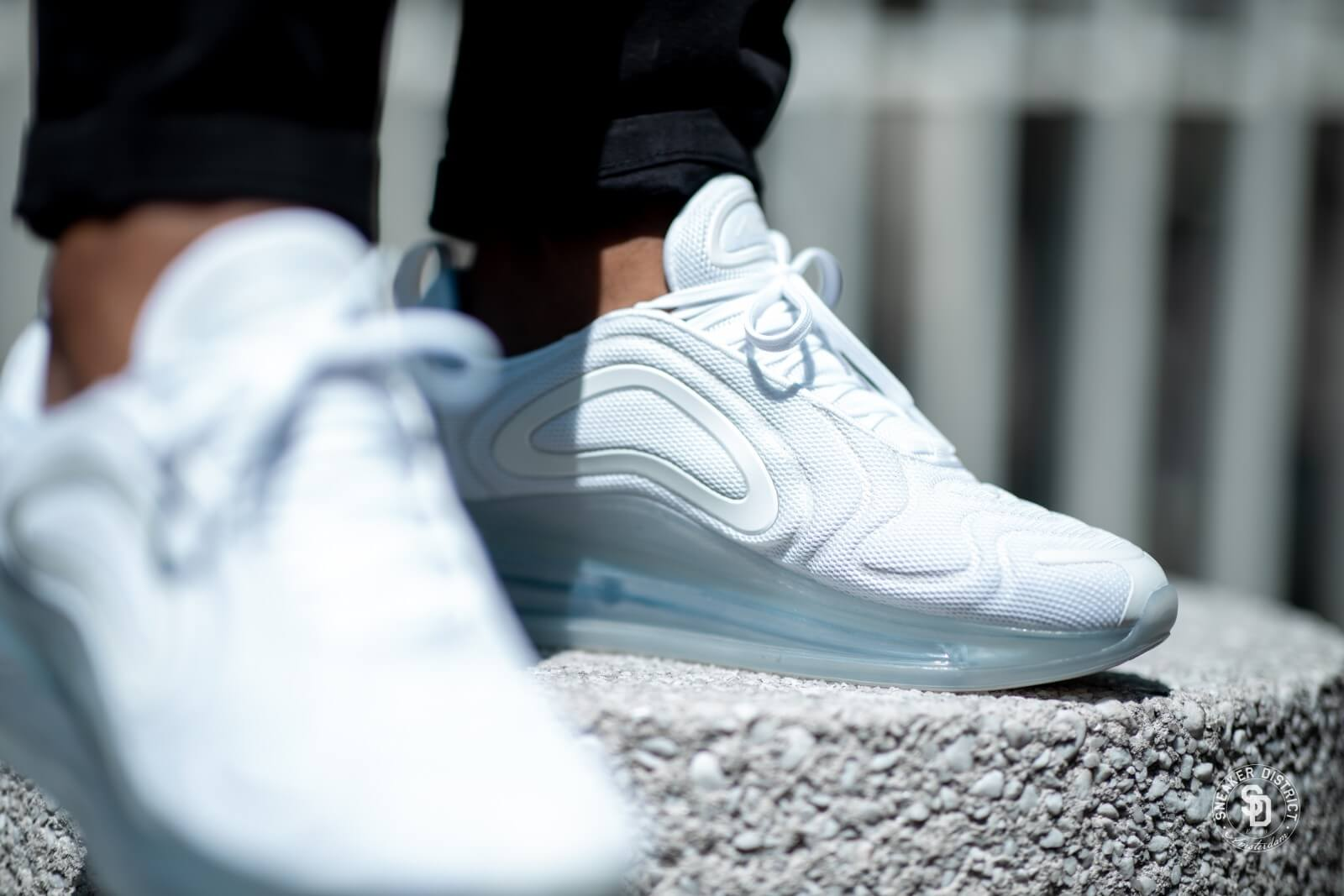 Nike Air Max 720 White/Metallic Platinum - AO2924-100