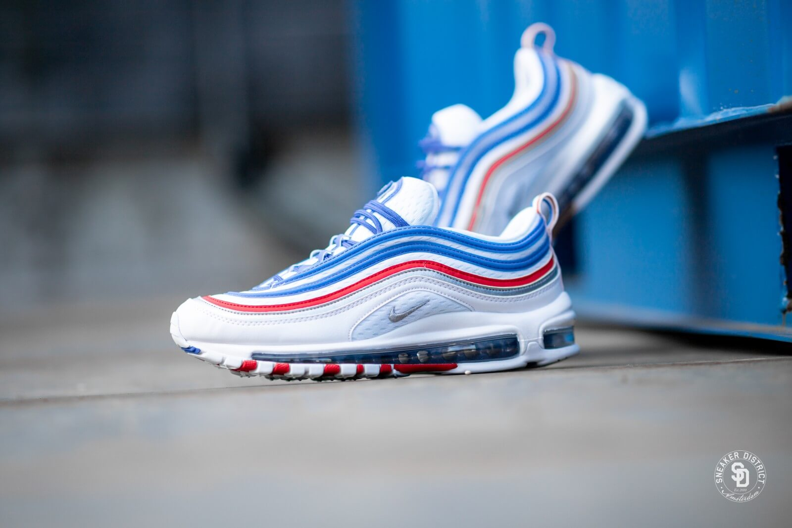 air max 97 blu metallic