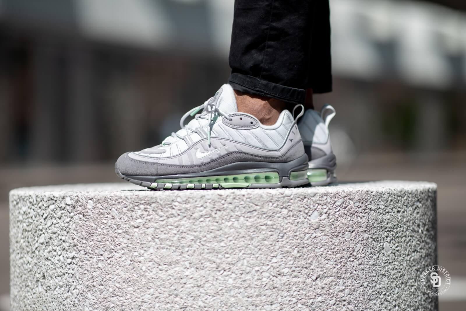 Nike Air Max 98 Vast Grey Fresh Mint 640744 011 Release Date
