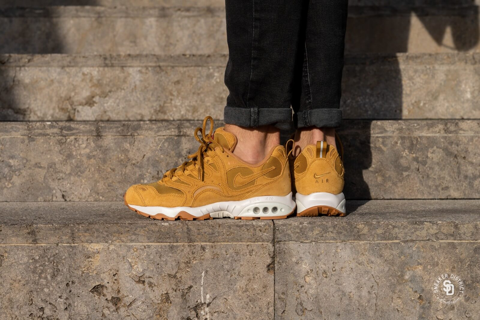 new photos picked up the sale of shoes Nike Air Terra Humara '18 Leather Wheat/Light Bone-Gum - AO8287-700