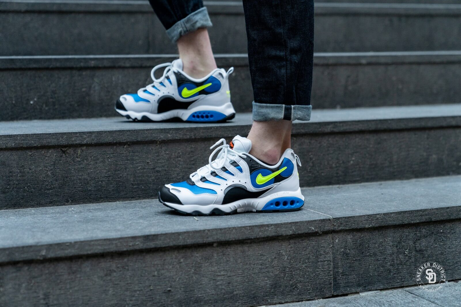 big sale well known website for discount Nike Air Terra Humara '18 White/Volt Photo Blue/Black - AO1545-100
