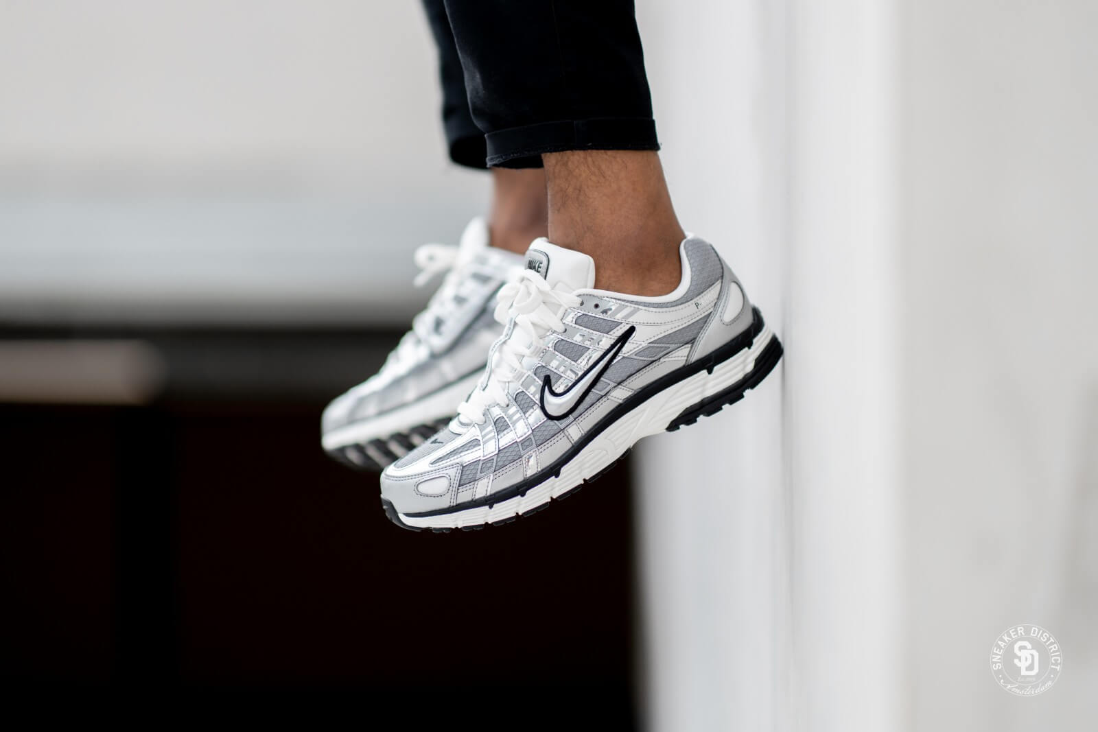 Nike P-6000 Metallic Silver/Sail - CN0149-001