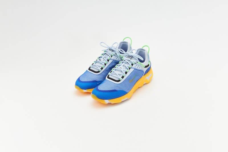 Nike React Live Premium Football Grey/Laser Orange-Hyper Royal