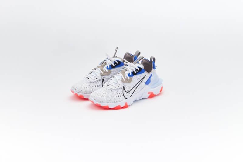 Nike React Vision White/Black-Racer Blue-Bright Crimson