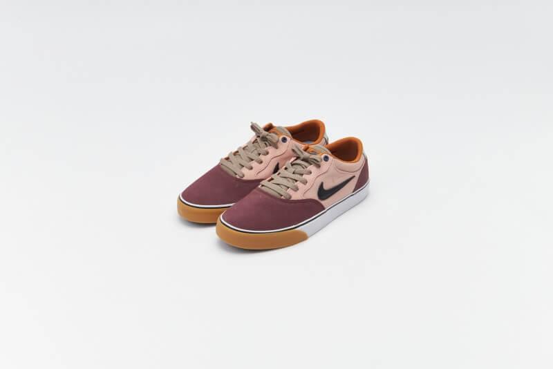 Nike SB Chron 2 Dark Wine / Black - Pink Oxford