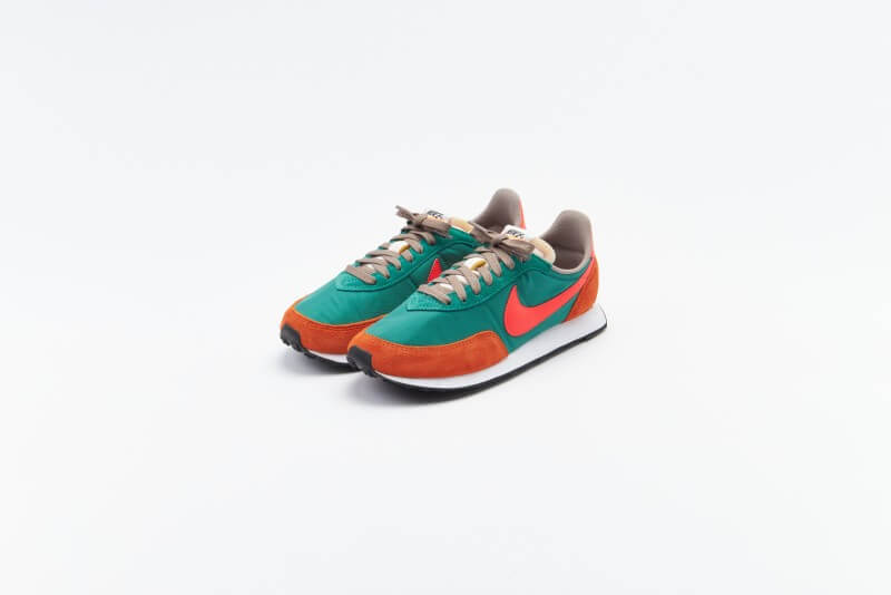 Nike Waffle Trainer 2 SP Green Noise / Bright Crimson - Sport Spice