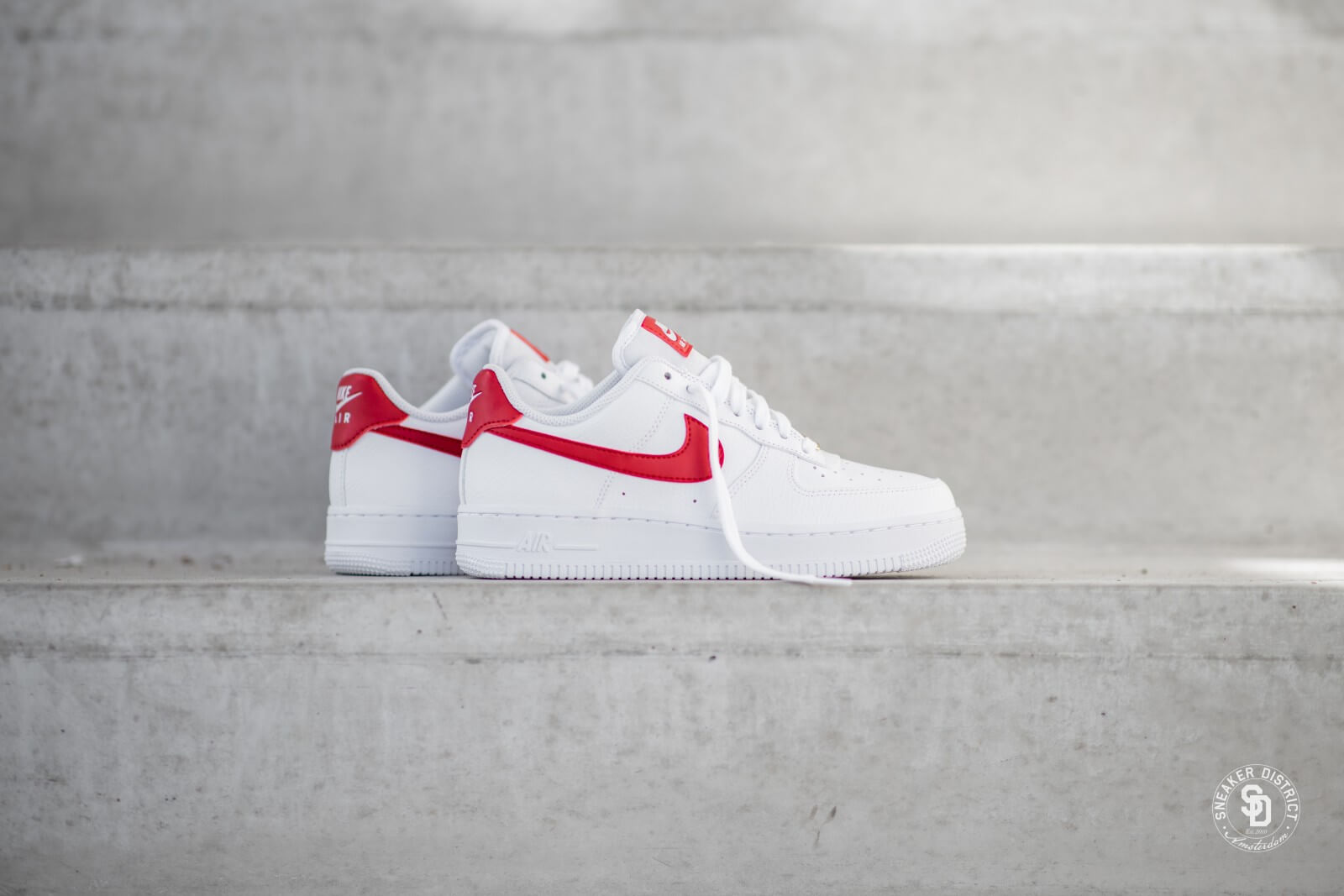 air force 1 womens red