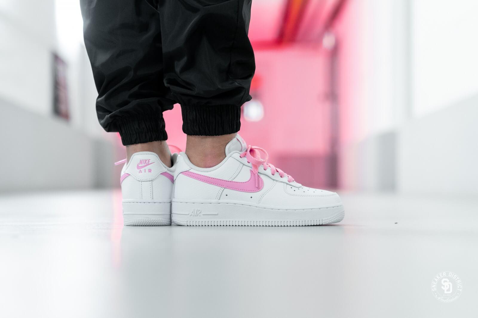 air force 1 white pink tick \u003e Clearance