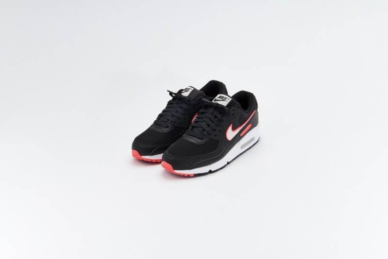 Nike Women's Air Max 90 Black/Light Soft Pink-Magic Ember-White