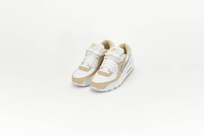 Nike Women's Air Max 90 Summit White/Wolf Grey-Rattan