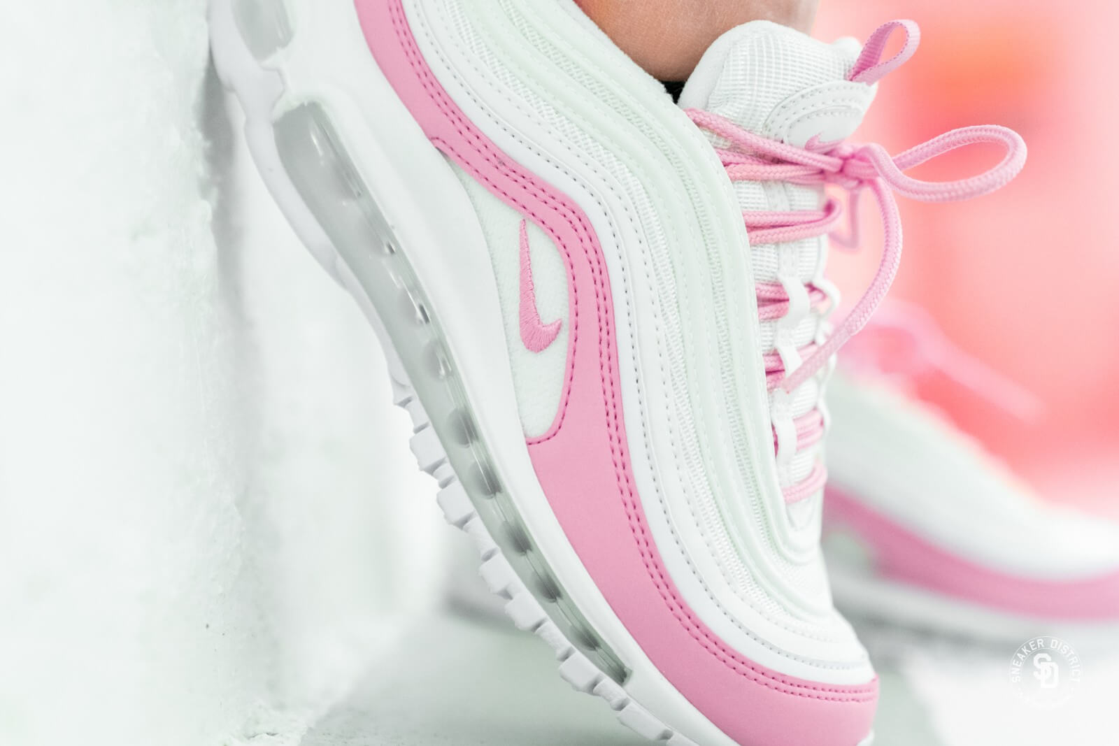Nike Women S Air Max 97 Essential White Psychic Bv1982 100