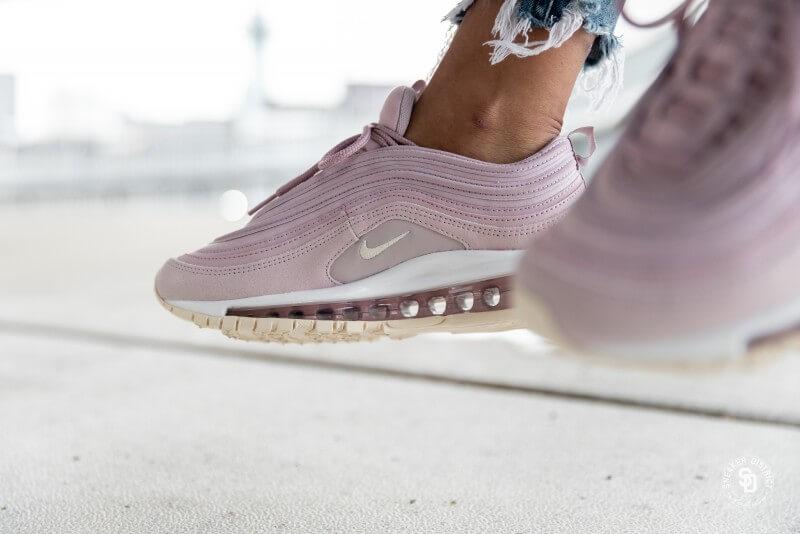 Nike Women's Air Max 97 Premium Plum Chalk/Light Cream-Rose ...