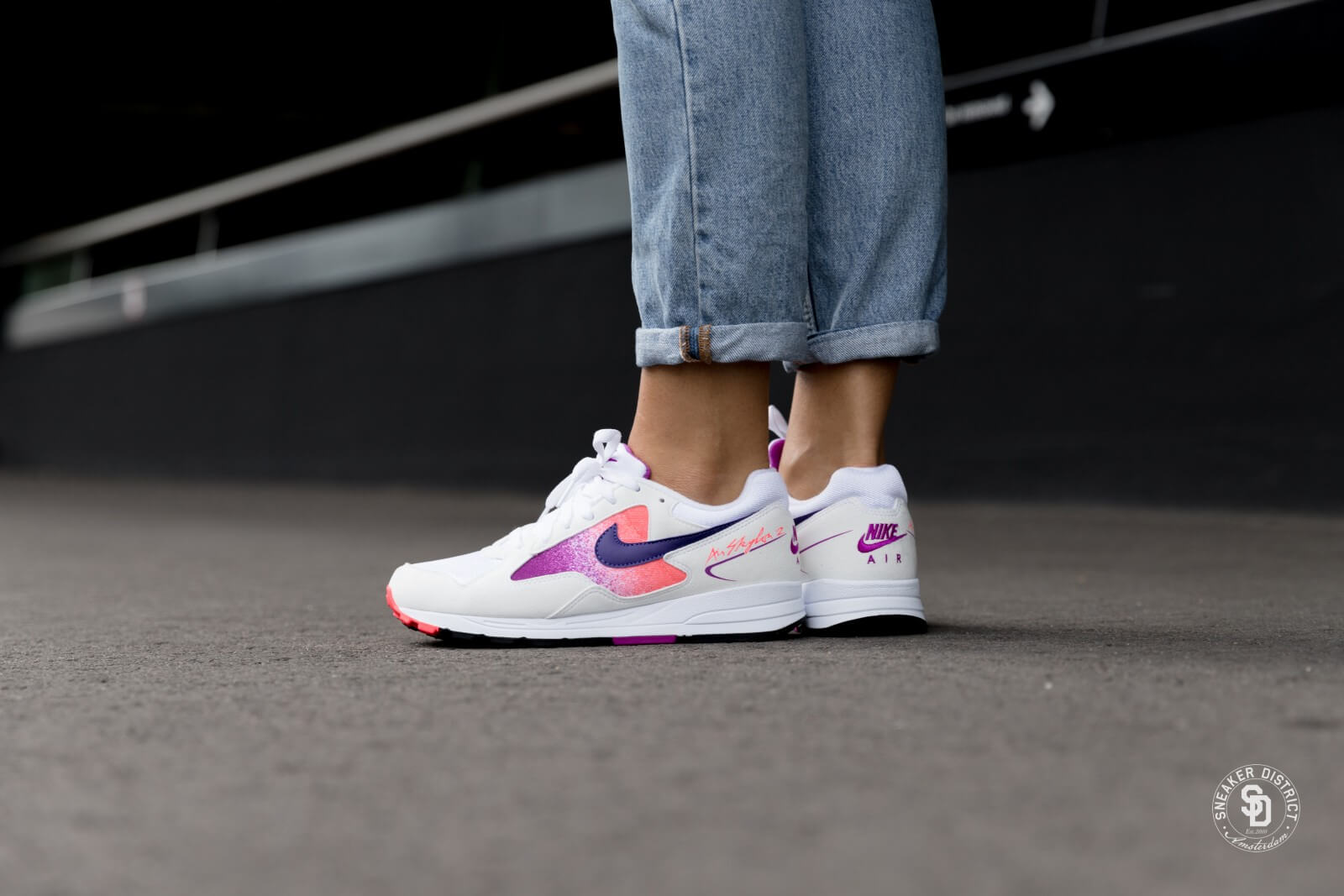 Nike Air Skylon 2 White Blue Womens Where To Buy AO4540