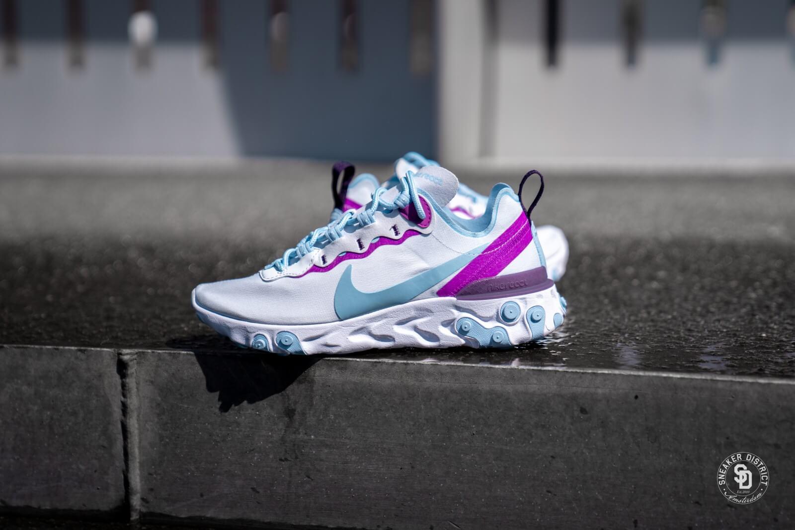 Nike Air Max 95 Womens Football Grey Hyper Violet White