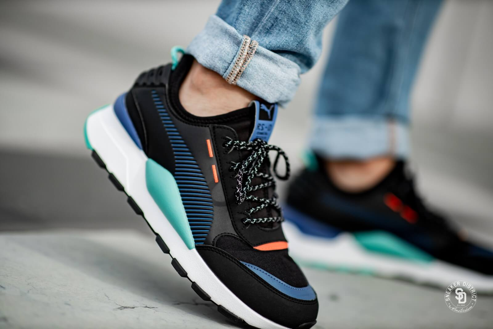 Puma RS-0 Trail Puma Black/Galaxy Blue - 371829-03
