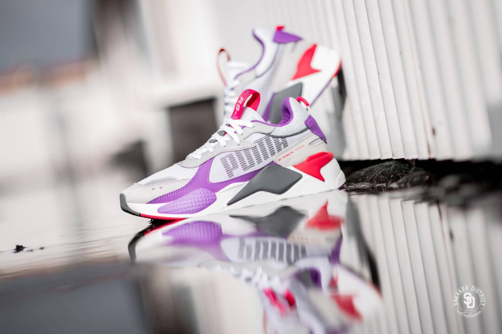 Puma RS-X Bold White/High Rise-Lilac - 372715-04