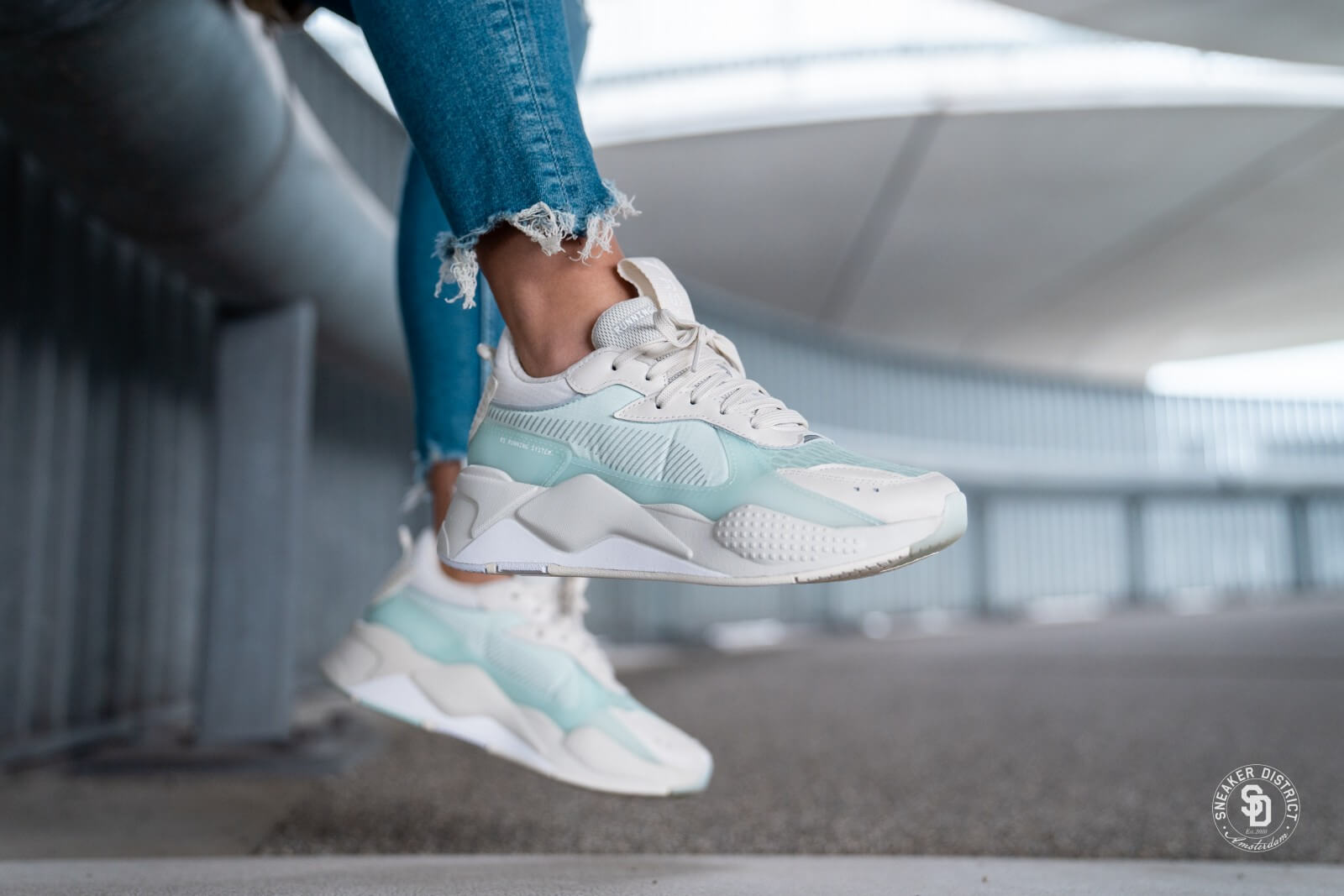 Puma RS-X Tech Vaporous Gray/Fair Aqua - 369329-02