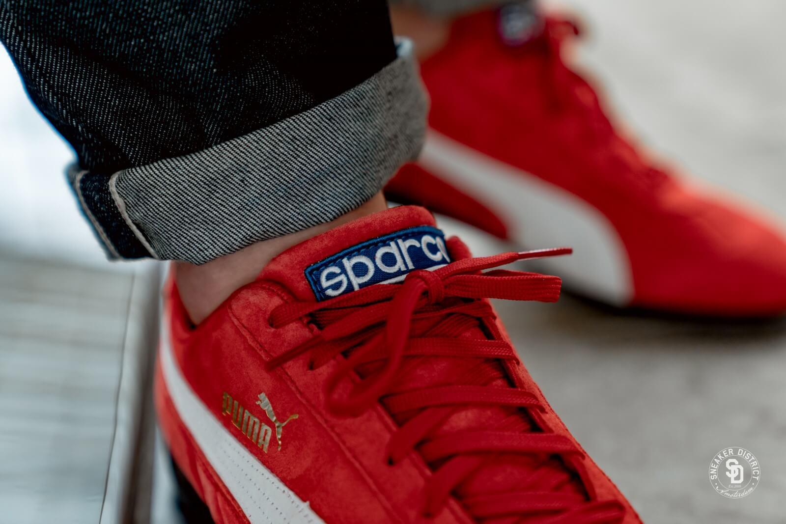 Puma Speedcat OG Sparco Ribbon Red/Puma White - 339844-05