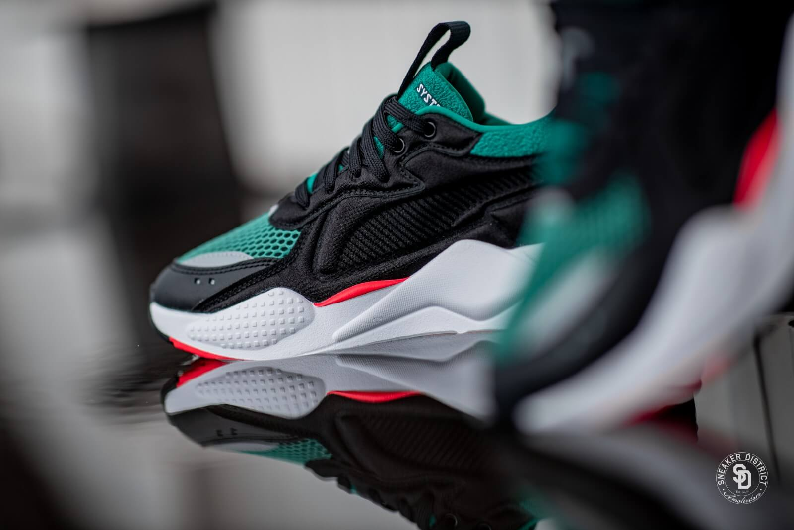 Puma RS-X Softcase Black/Cadmium Green - 369819-06