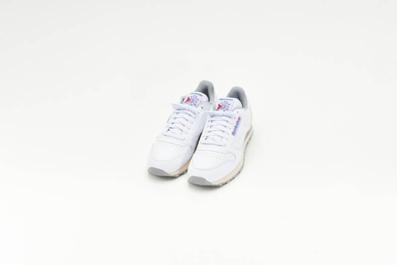 Reebok Classic Leather White/Grey-Sand-Royal