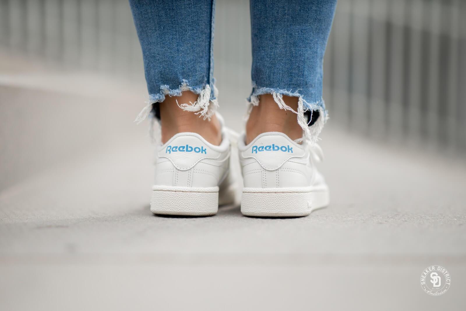 Reebok Club C 85 MU chalkpaperhwitecyan Fashion sneakers