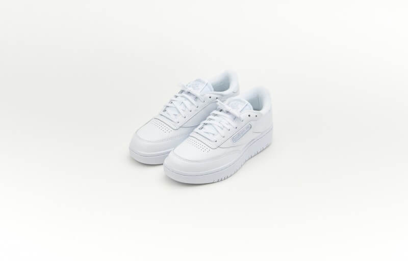 Reebok Womens Club C Double Footwear White/White