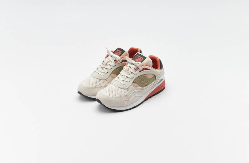 Saucony Shadow 6000 White / Clay