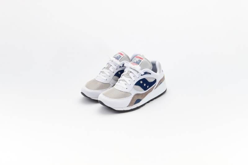 Saucony Shadow 6000 White/Grey-Navy