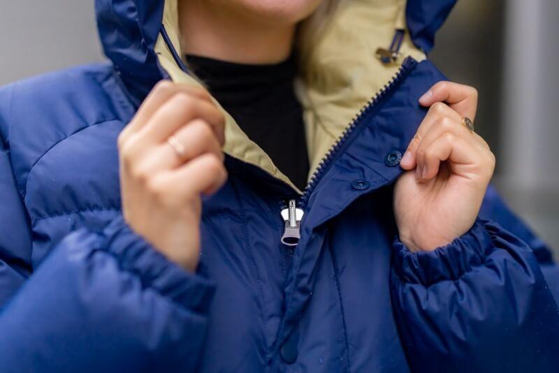 SHU Women's Reversible Jacket Blue/Yellow