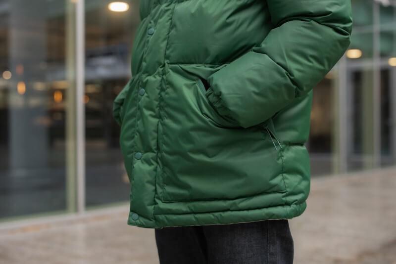 SHU Reversible Jacket Green/Pink