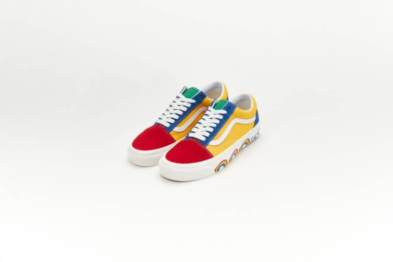Vans Old Skool 36 DX Anaheim Factory OG Color Mix/Scene As