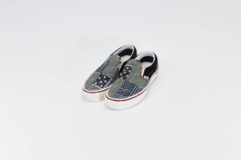 Vans Women's Classic Slip-On 9 DX PW Anaheim Factory Quilted Mix