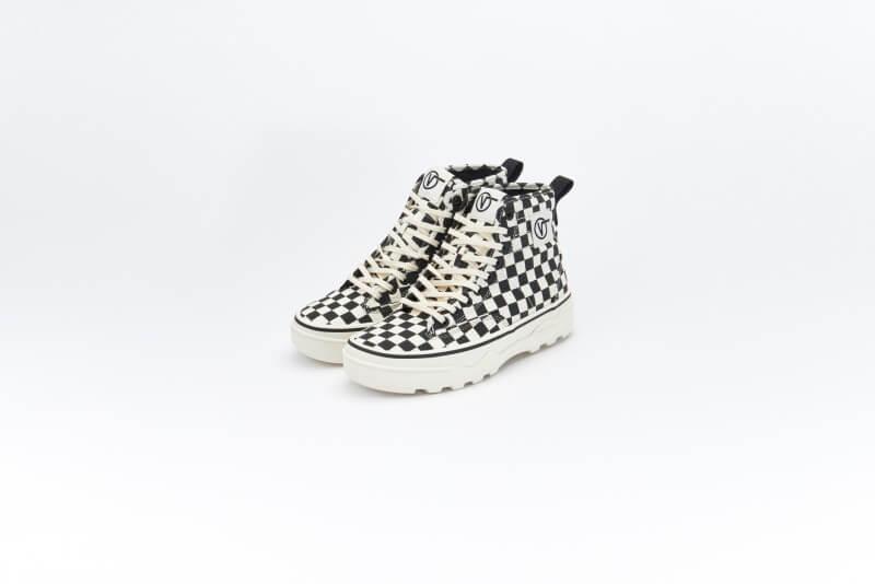Vans Women's Sentry WC Canvas Checkerboard/Marshmallow