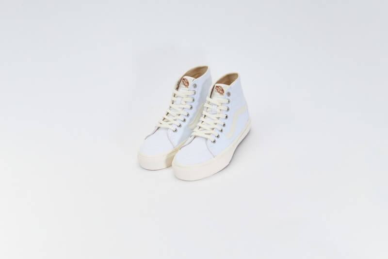 Vans Women's Sk8-Hi Tapered Eco Theory White/Natural