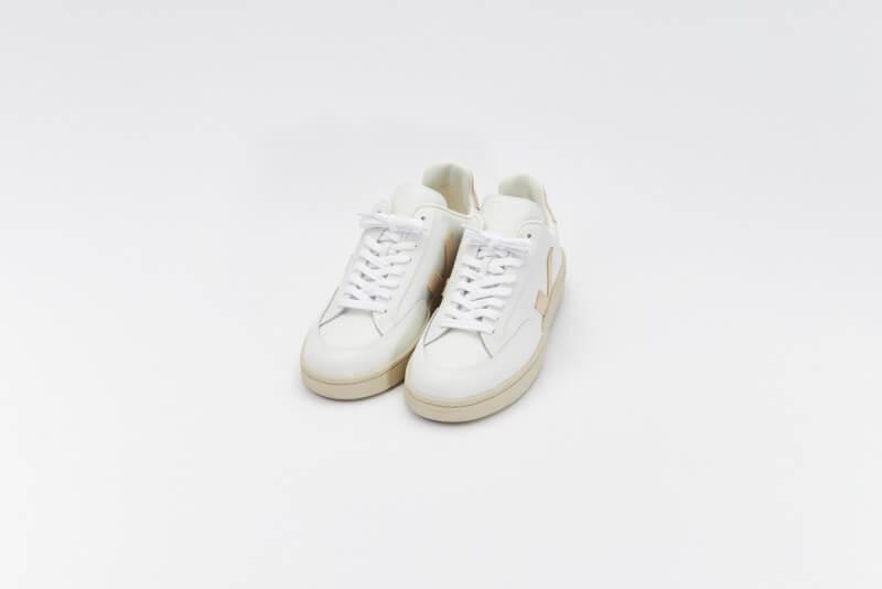 Veja Women's V-12 Leather Extra White/Sable