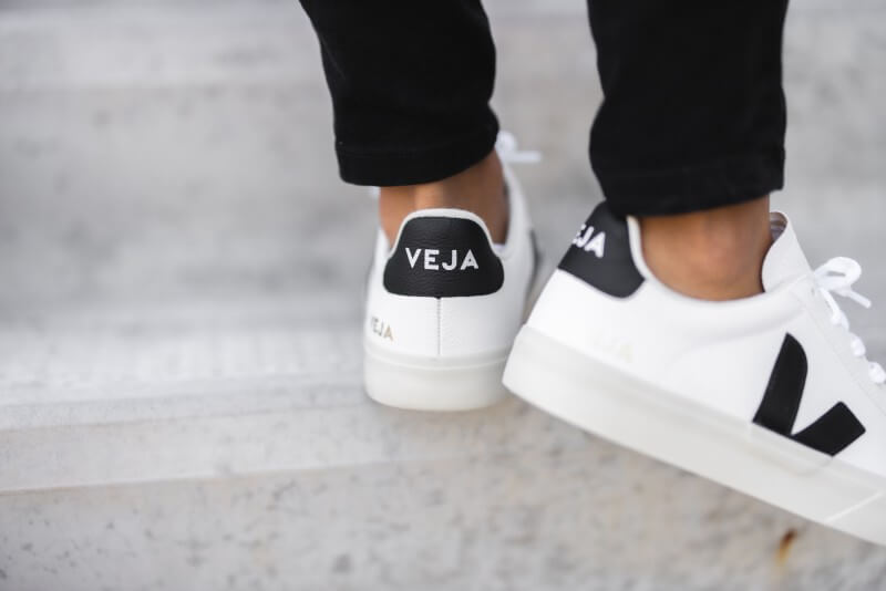 Veja Women's Campo Chromefree White/Black