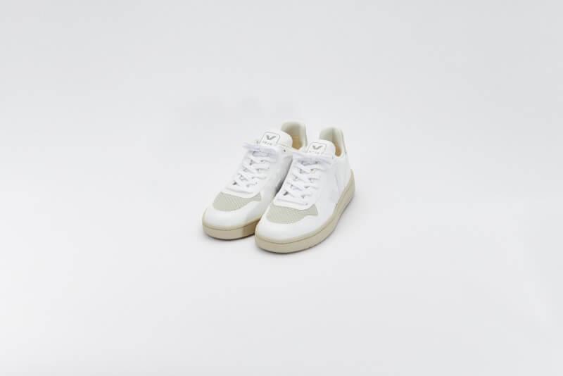 Veja Women's  V-10 CWL Full White/Natural